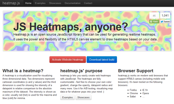 Heatmap.js