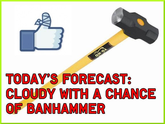Image result for ban hammer