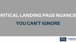 landing page tips and nuances