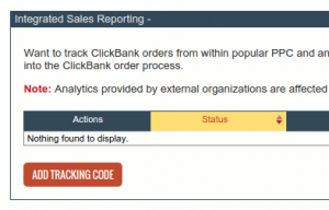 integrated sales reporting