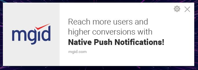 MGID Push Notifications