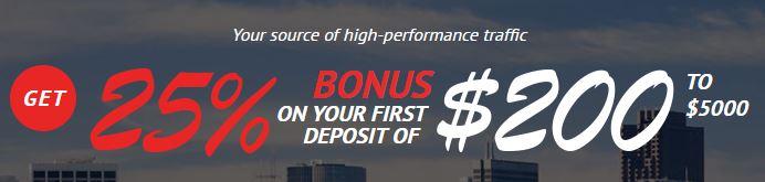 25% Bonus
