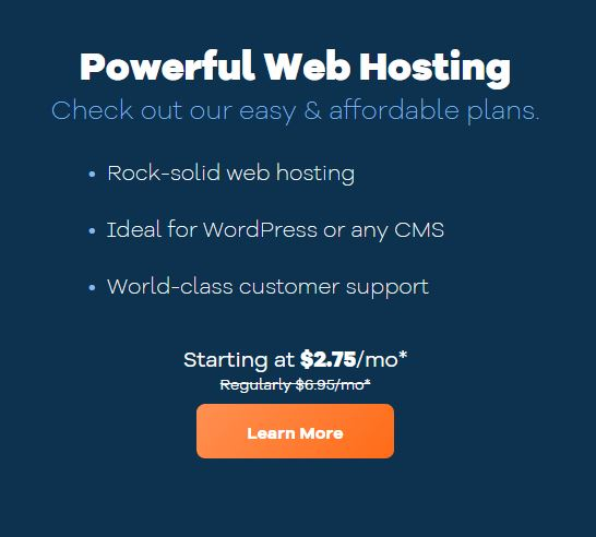 powerful web hosting