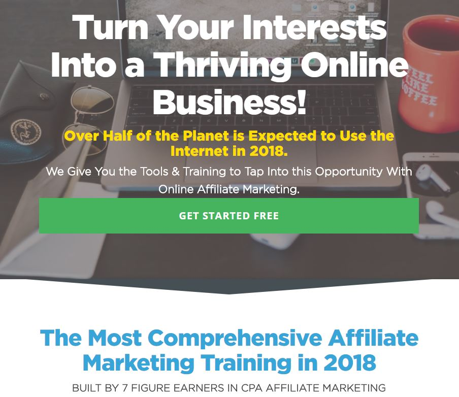 Thriving Online Business!