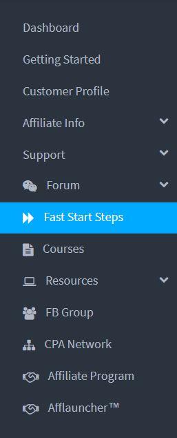 Fast Start Steps