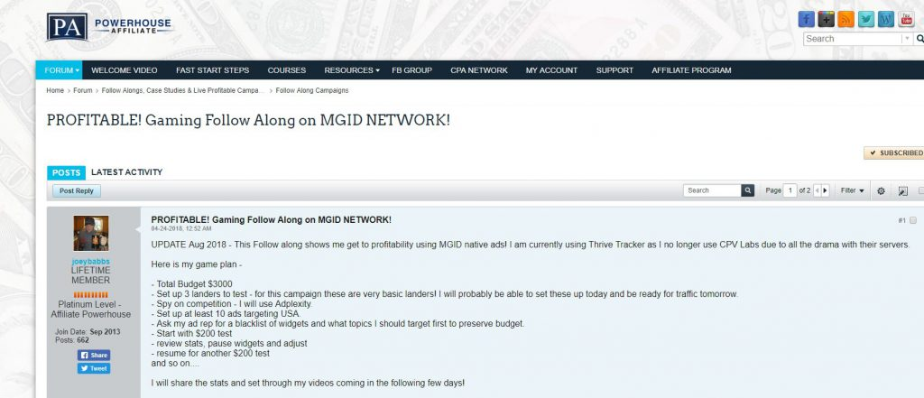 Profitable! MGID Network