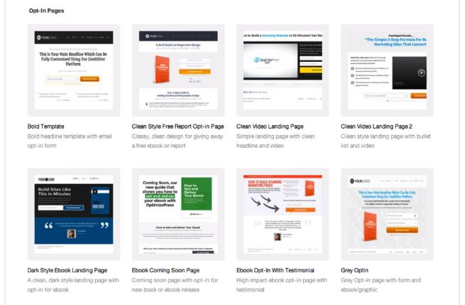 This Is Why We Like OptimizePress & Why You Will Too 4