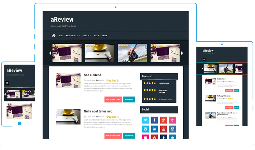 5 Free & Awesome WordPress Themes For Affiliate Marketing Sites 2