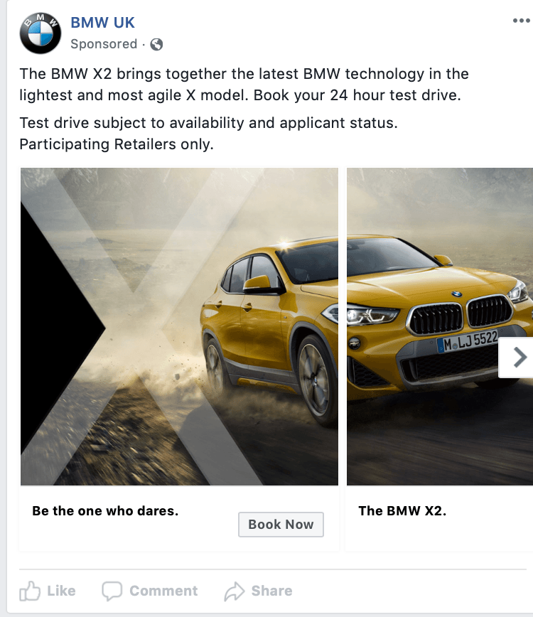 BMW Leads Generation