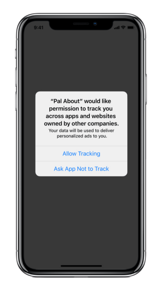 iOS14 Privacy Notification