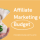 Affiliate Marketing on a Budget