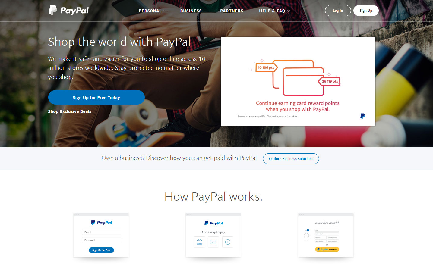 paypal for affiliate
